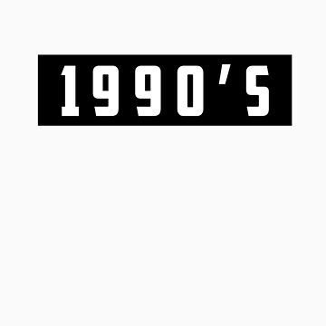 1990's Tee by objThom