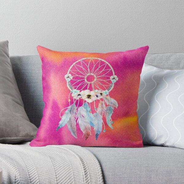 Watercolor 9 Throw Pillow