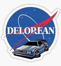 DELOREAN SPACE Sticker