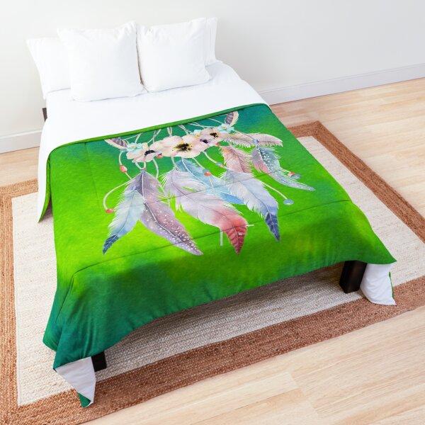 Watercolor 10 Home Decor Textile Comforter