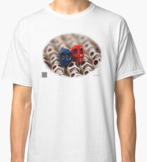 Blue And Red Classic T-Shirt