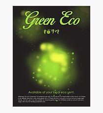 Green Eco Photographic Print