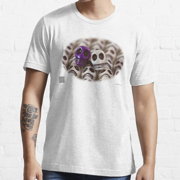Purple And White Essential T-Shirt
