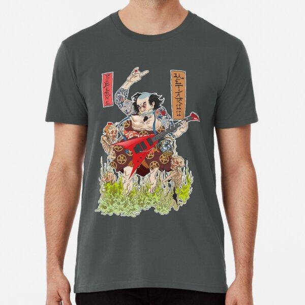 Metaruu! - Feudal Samurai Metalhead Premium T-Shirt