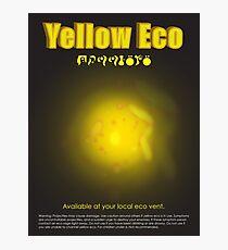 Yellow Eco Photographic Print