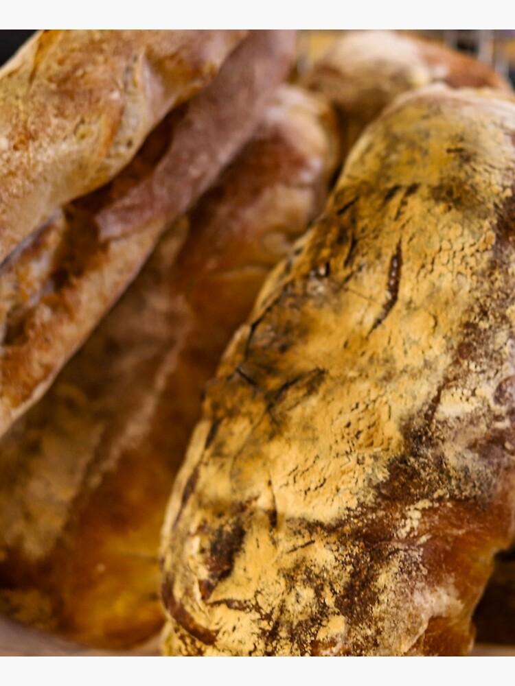 Fresh Daily Bread Sourdough Design by MargueriteFaure