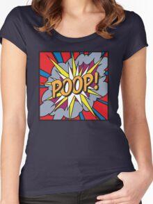 POOP! Women's Fitted Scoop T-Shirt
