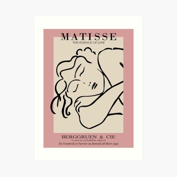 Henri Matisse - Sleeping Woman - Prints Art Print