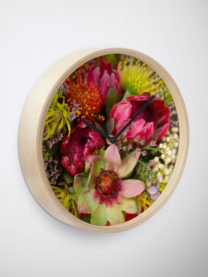 Alternate view of Protea Design in South Africa Clock