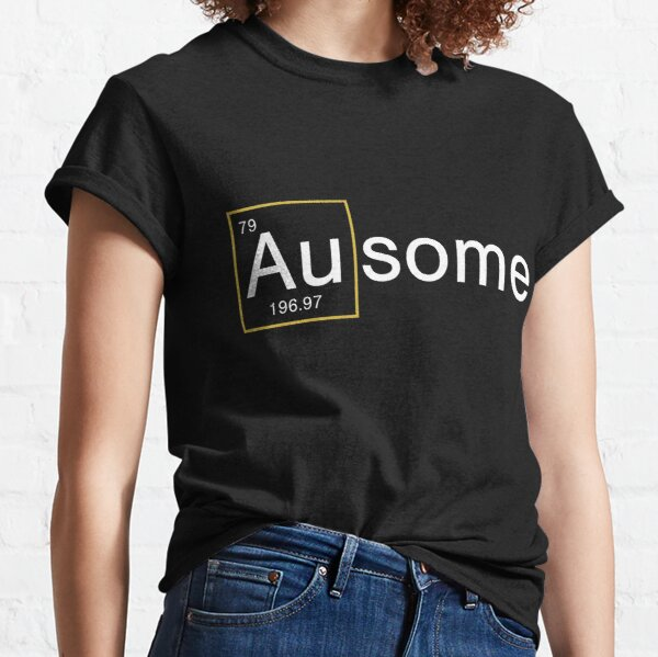 Ausome Autism (white text) Classic T-Shirt