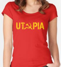 UTOPIA Women's Fitted Scoop T-Shirt
