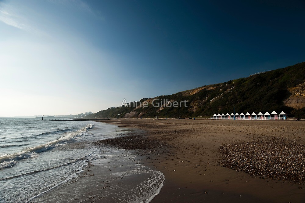 Bournemouth Beach Huts by Anne Gilbert