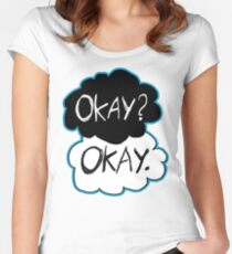 Okay? Okay.  Women's Fitted Scoop T-Shirt
