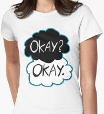 Okay? Okay.  Women's Fitted T-Shirt