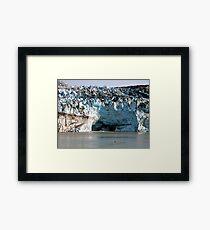 Glacial Melt Framed Print