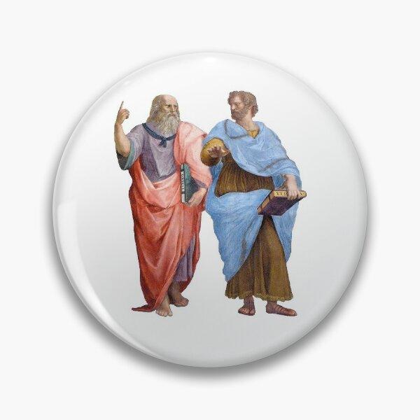 Plato and Aristotle  Pin