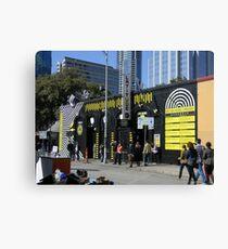 A SXSW Music Venue Canvas Print