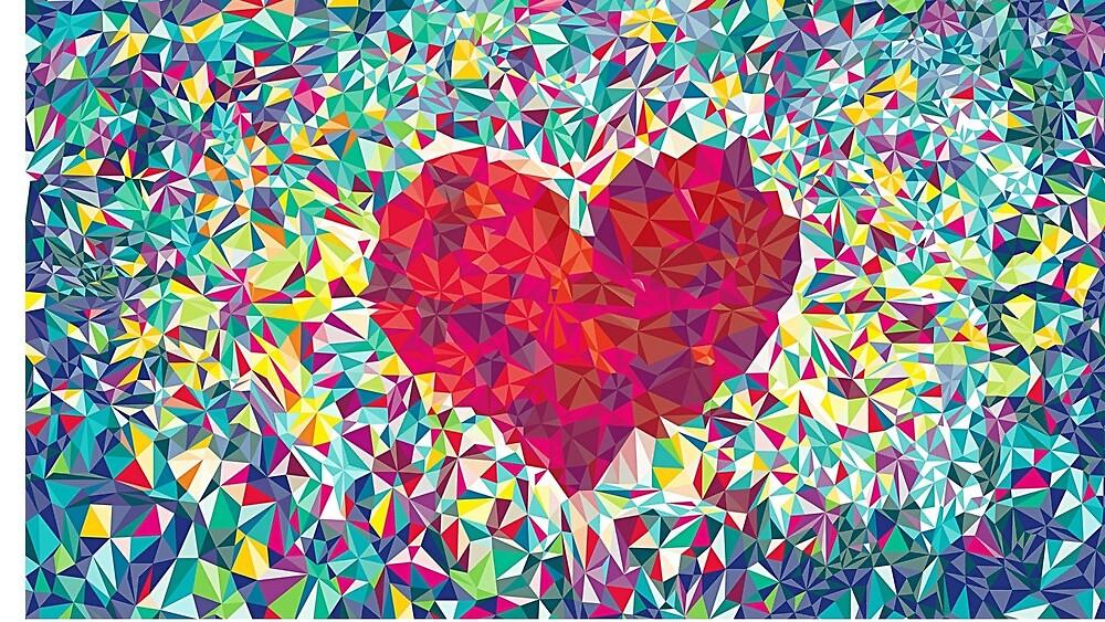 Heart art by metaltrash