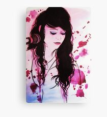 Shan - coloured Canvas Print