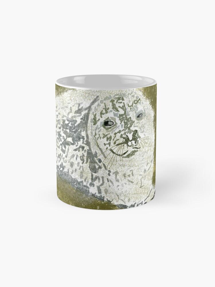 Alternate view of Common Seal Pup. Oban, Scotland Mug