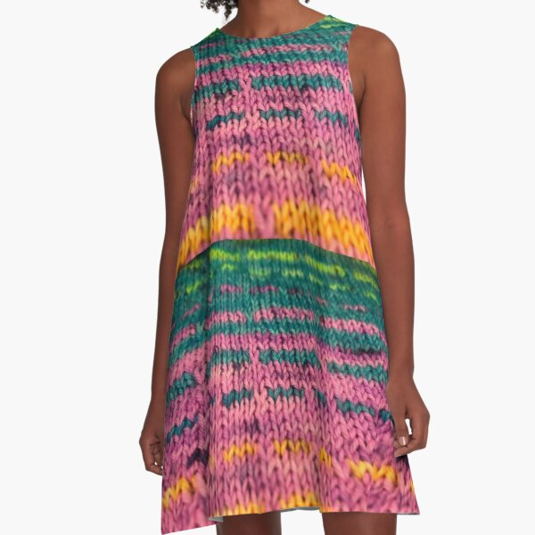That's How You Get Mutants Knitted Fabric A-Line Dress