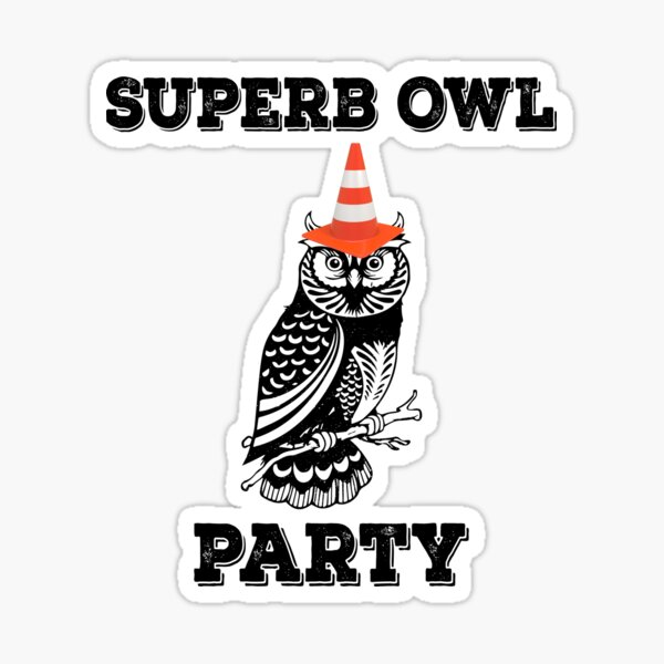 Superb Owl Party - What We Do in the Shadows Sticker