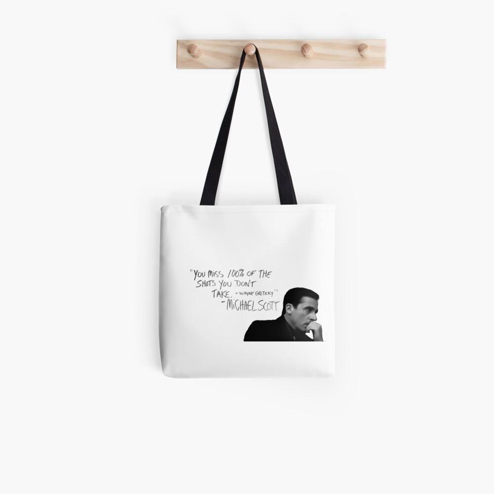 the office michael scott  Tote Bag