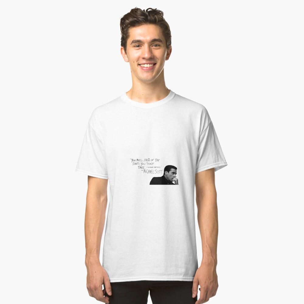the office michael scott  Classic T-Shirt
