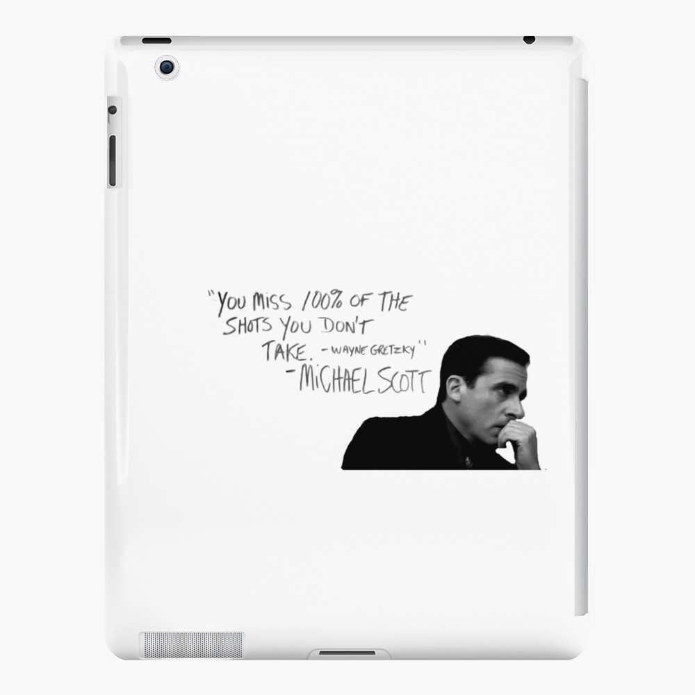 the office michael scott  iPad Case & Skin