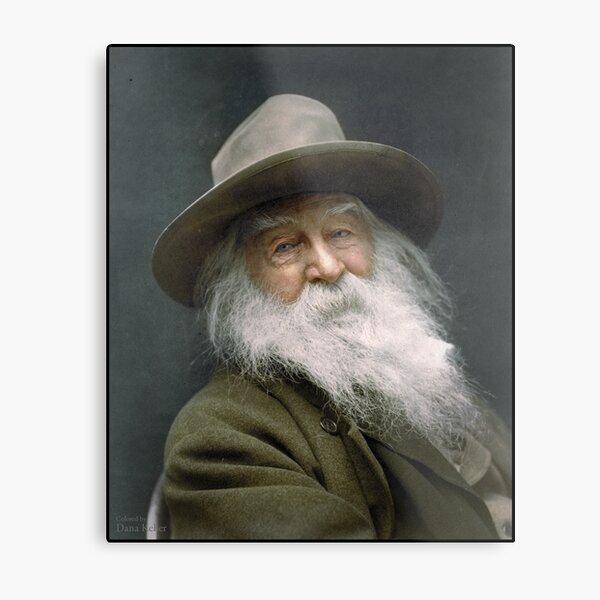 Walt Whitman, 1887 Metal Print
