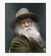 Walt Whitman, 1887 Photographic Print