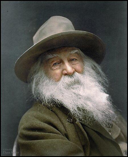 Walt Whitman, 1887 by Dana Keller