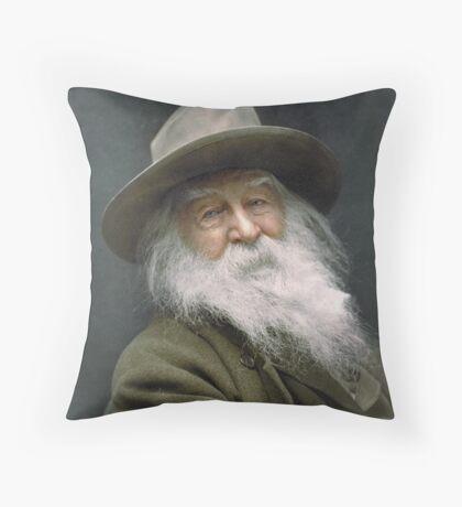 Walt Whitman, 1887 Throw Pillow