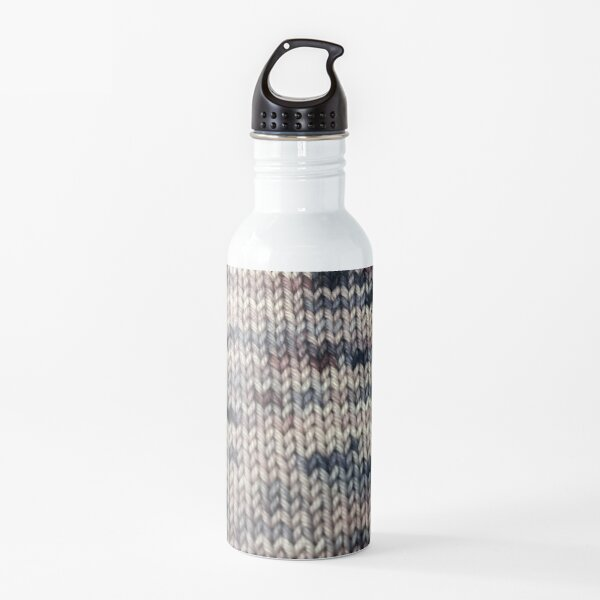 Dancing in the Red Room Knitted Fabric Water Bottle