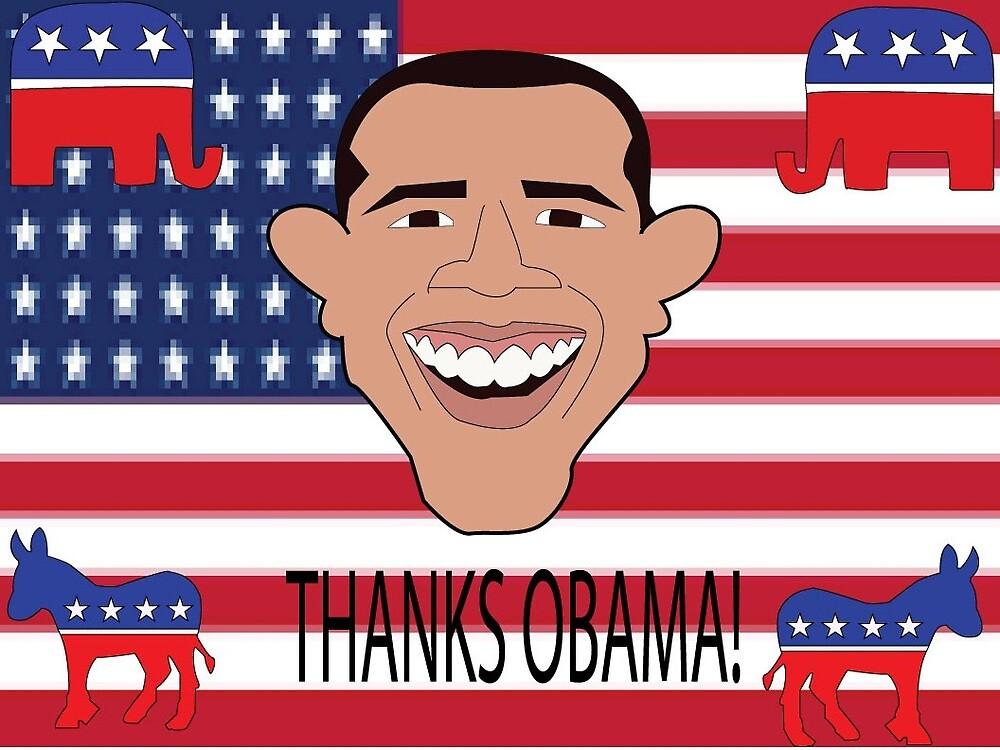 Thanks Obama by Eydaboss