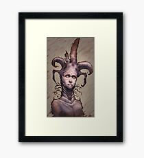 You Jest Framed Print