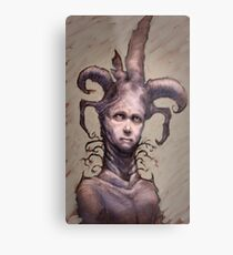 You Jest Metal Print