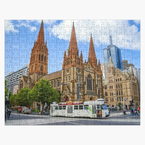 Downtown Melbourne Jigsaw Puzzle