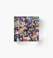 Phan Collage #3 Acrylic Block
