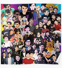 Phan Collage #3 Poster