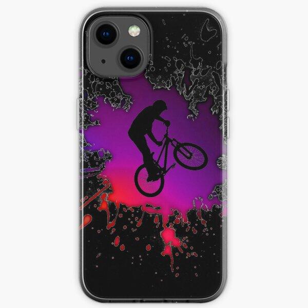 Cool Bmx Bike for halfpipe with nice Wheel, BMX stunt bike iPhone Soft Case