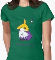 Original Nonbunnary Womens Fitted T-Shirt