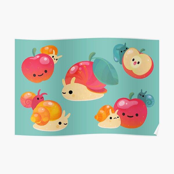 Apple snail Poster