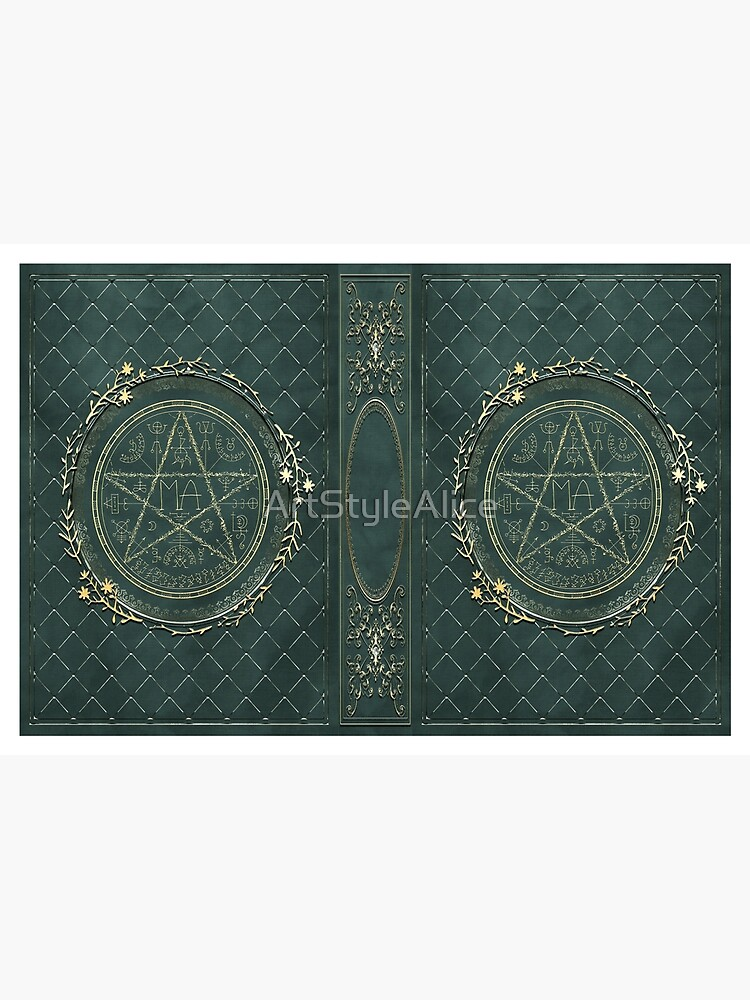Seal grimoire magic book by ArtStyleAlice