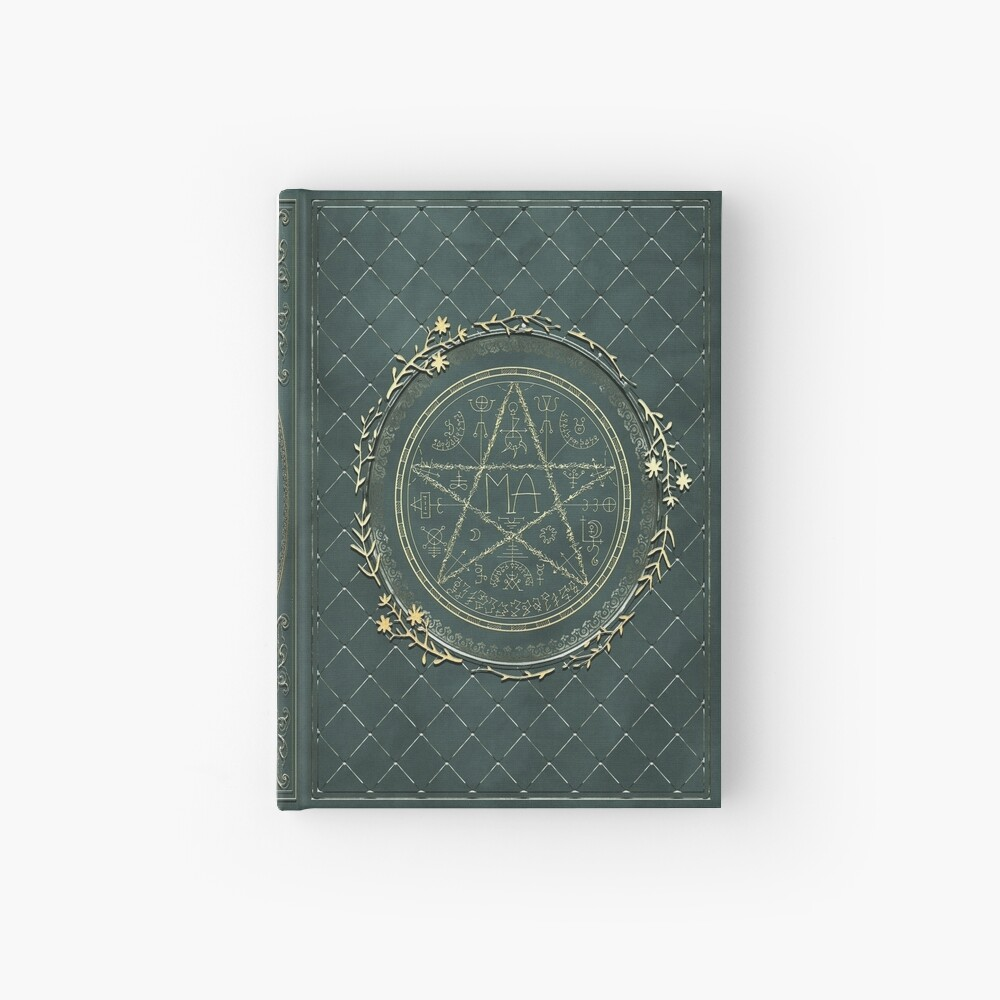 Seal grimoire magic book Hardcover Journal