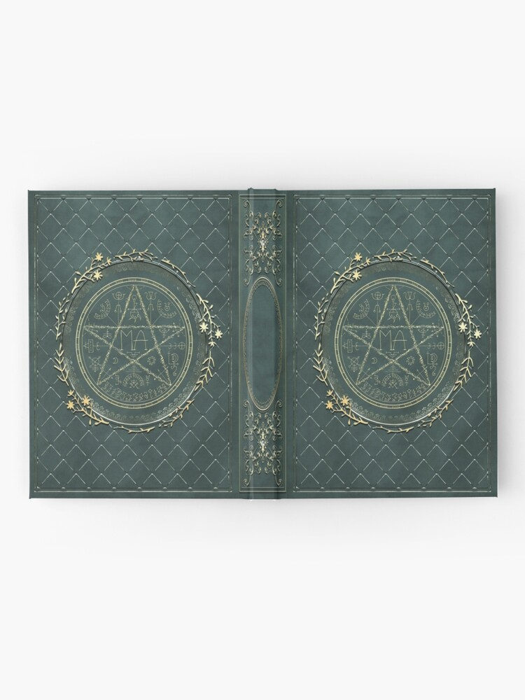Alternate view of Seal grimoire magic book Hardcover Journal