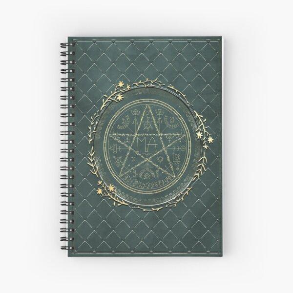 Magic seal Spiral Notebook