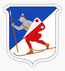 Lillehammer Coat of Arms  Sticker