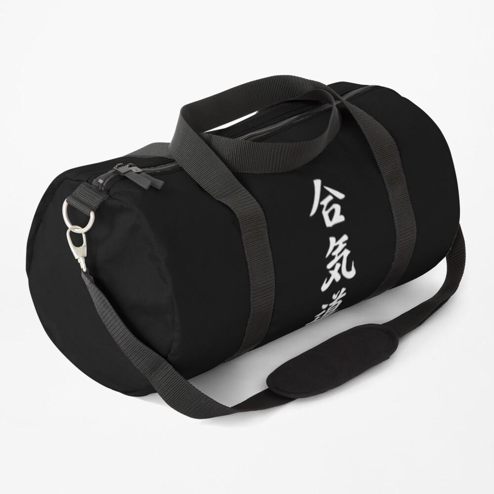 Aikido Kanji Duffle Bag