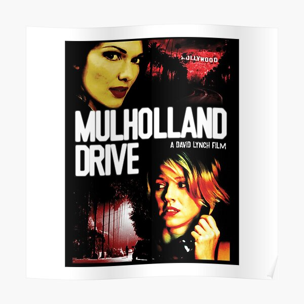 CONCEPTION MULHOLLAND DRIVE Poster